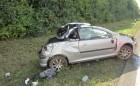 Glück im Unglück, der Fahrer überlebte leicht verletzt.