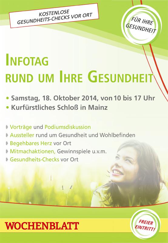Gesundheitstag 18 10 14 online Menschen in Rheinhessen: David Deichmann, der Bodyart Künstler aus Oppenheim