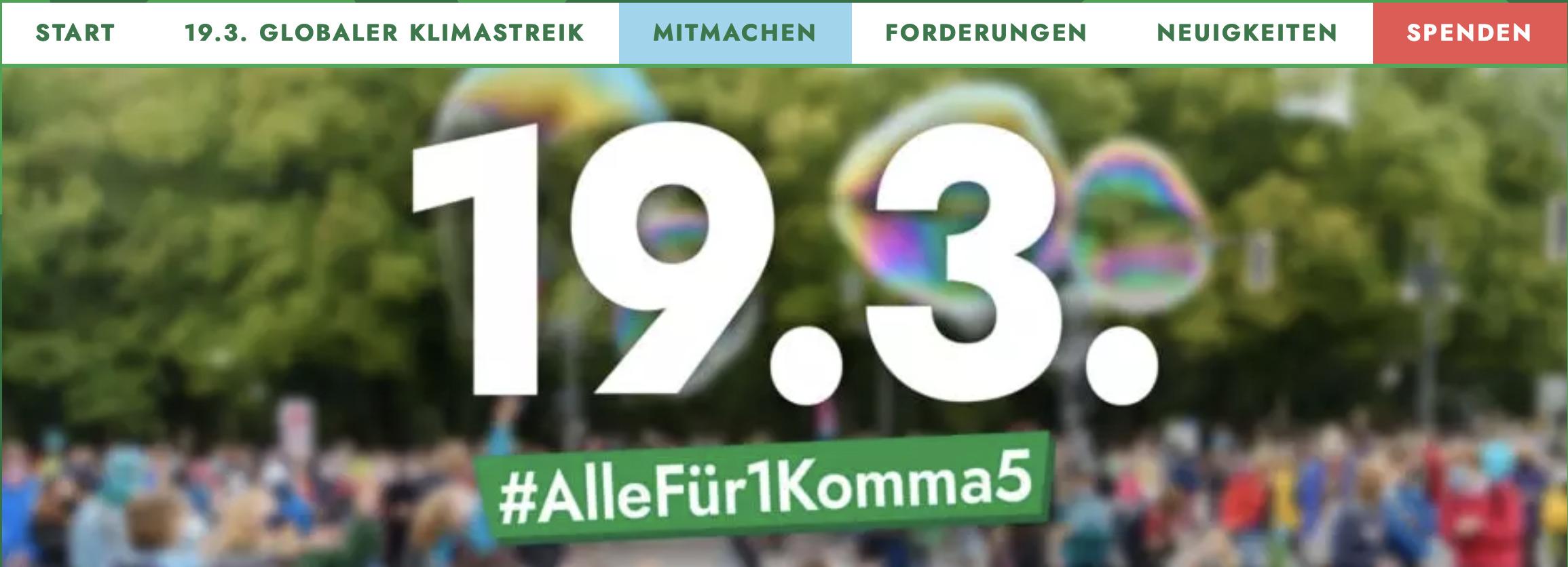Fridays For Future Mainz ruft zu Fahrraddemo auf